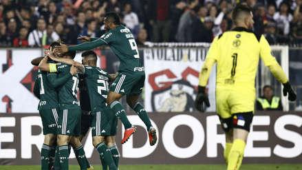 Palmeiras derrotó 2-0 a Colo Colo por la Copa Libertadores