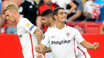Sevilla goleó 5-1 al Standard Lieja en el arranque de la Europa League