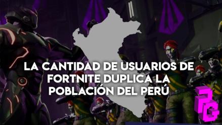 La cantidad de usuarios de Fortnite duplica la población del Perú