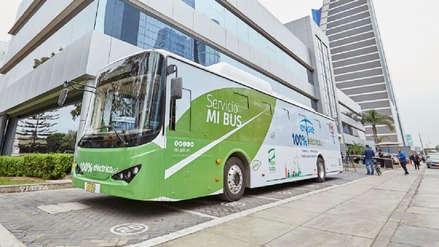Lo que debes saber sobre el bus eléctrico que recorre gratis las calles de San Isidro