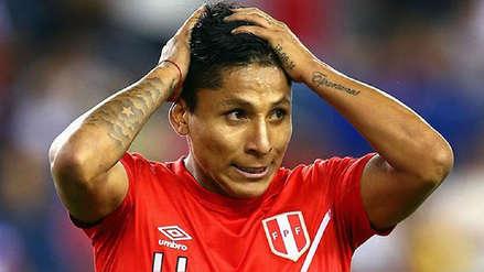 Raúl Ruidíaz es duda para los amistosos de la Selección Peruana por lesión