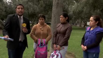 Candidata a regidora de San Isidro impidió que niños se tomaran fotos en el Olivar