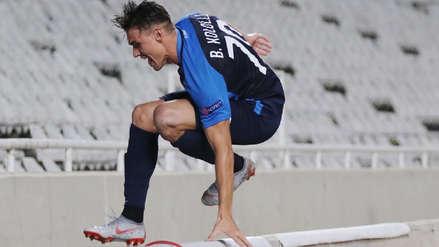 Jugador del Zurich cayó en un foso al celebrar un gol en la Europa League