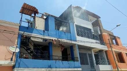 Chiclayo: recalentamiento de celular originó incendio en vivienda