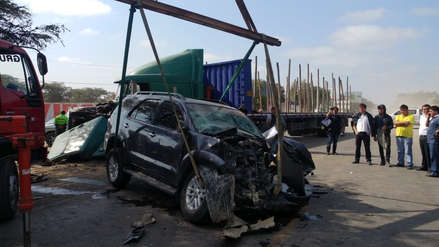 Lambayeque: hermano e hijos de gobernador Humberto Acuña sufren accidente