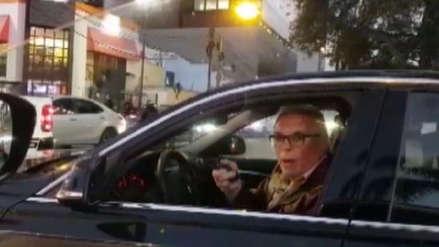 MTC solicitará a Municipalidad de Lima proceso sancionador a conductor que amenazó con un arma