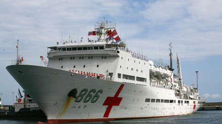 El buque hospital chino