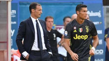 """Massimiliano Allegri: """"La Juventus no depende de Cristiano Ronaldo"""""""
