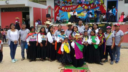 Colegio de Corral de Piedra realizó elección de las reinas Wamra y Shipash 2018