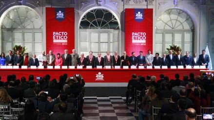 Partidos acuerdan exhibir una silla vacía en caso de candidatos que no asistan al debate