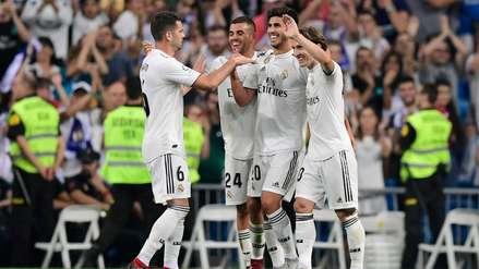 Real Madrid derrotó con lo justo al Espanyol en la Liga de España
