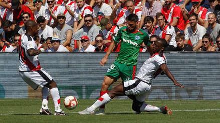 Dura derrota: Rayo Vallecano de Luis Advíncula cayó goleado 5-1 ante Alavés