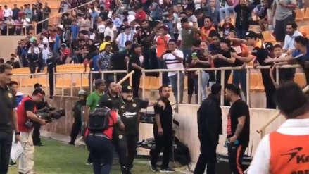 Diego Maradona fue recibido con una gran ovación de la hinchada rival