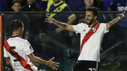 River Plate derrotó a Boca Juniors en el Superclásico disputado en la Bombonera
