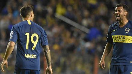 La fuerte discusión entre Mauro Zárate y Edwin Cardona en el Boca Juniors vs. River Plate