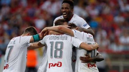 Lokomotiv de Moscú perdió ante el Zenit en la Premier League de Rusia