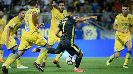 Cristiano Ronaldo anotó de zurda para la victoria de la Juventus en la Serie A