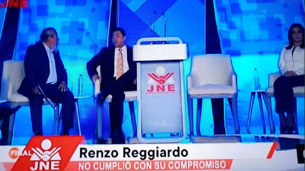 Las reacciones de los candidatos en redes sociales por la ausencia de Reggiardo en el debate