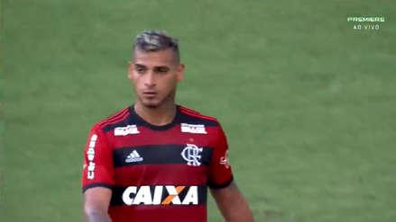 Con dos asistencias de Miguel Trauco, Flamengo venció al Atlético Minero