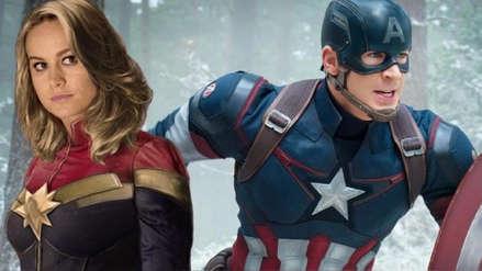 Capitán Marvel: Así reaccionó Chris Evans con el éxito del primer tráiler de la superheroína