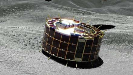 Japón logró aterrizaje de microrrobots sobre asteroide y comenzaron exploración