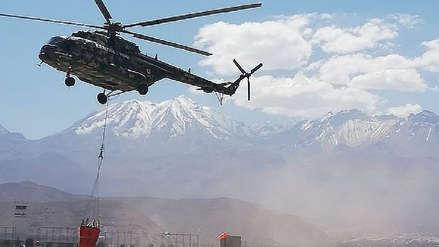 Evalúan traer helicóptero especializado en apagar incendios forestales