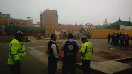 Gerente municipal de Surco: No hay riesgo en edificios colindantes a obra tras derrumbe