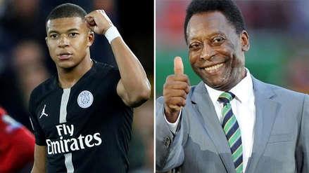 Kylian Mbappé y el inesperado regalo que recibió por parte de Pelé