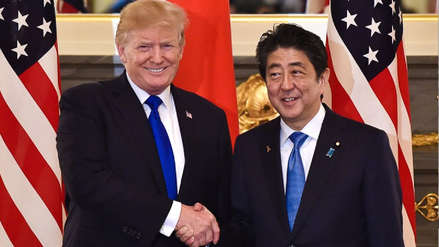 Trump y Abe acordaron coordinar la desnuclearización de la península coreana