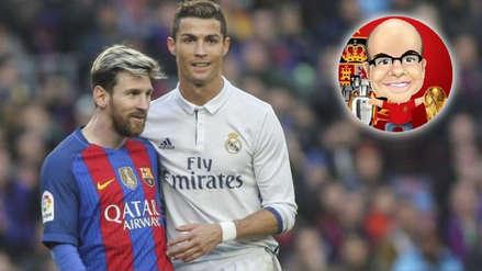 Mister Chip criticó duramente a Cristiano Ronaldo y Messi por su ausencia en The Best