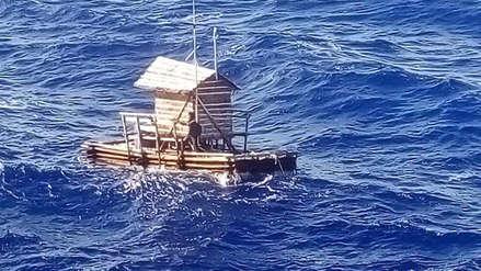 Joven indonesio sobrevive 48 días a la deriva en trampa flotante para peces
