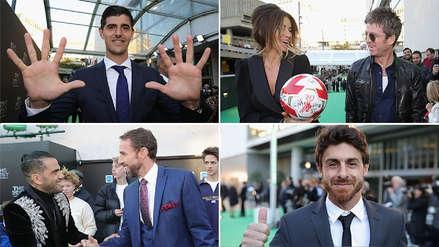 FIFA The Best: Las mejores imágenes de la alfombra verde