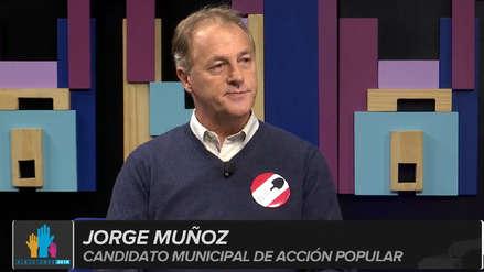 Jorge Muñoz tras el debate: