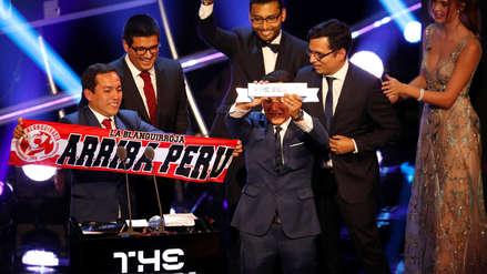 Este fue el discurso de La Blanquirroja al recibir el premio en la gala de la FIFA