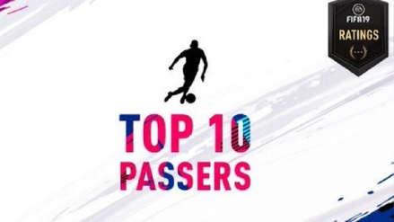 Los 10 jugadores con mejor técnica de pase en el FIFA 19