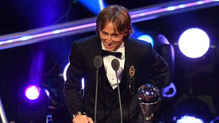 Luka Modric es The Best: los 10 momentos de su triunfo en gala de la FIFA