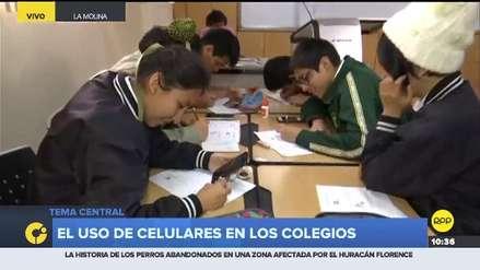 Un colegio de La Molina promueve el uso de celulares para el aprendizaje de los alumnos