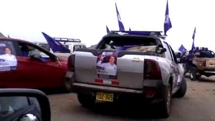 Denuncian actos proselitistas en Huacas de Moche