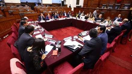 Comisión de Constitución aprobó la reforma sobre el financiamiento de partidos políticos