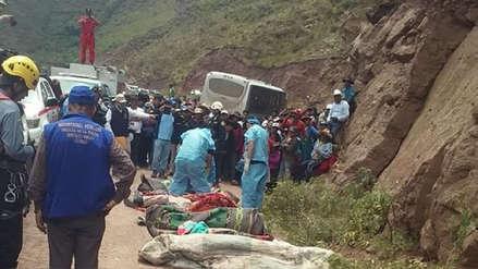 Confirman muerte de 23 personas tras accidente vehicular en la vía Cusco-Paruro