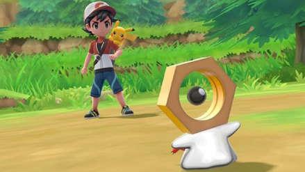 Pokémon Let's Go presente a su nueva criatura legendaria: Meltan