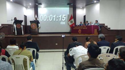 Candidatos a alcaldía de Chiclayo debaten sobre corrupción, limpieza y transporte