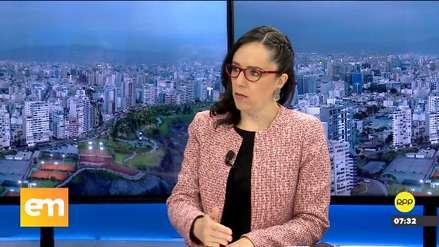 Marisa Glave sobre referéndum: Si el fujimorismo no cumple plazos,