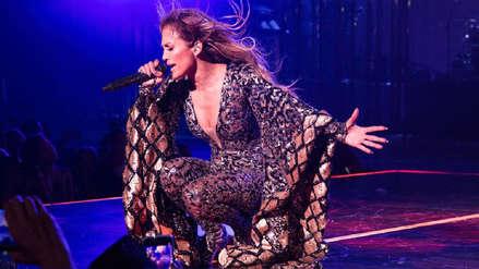 Jennifer López protagonizó bochornosa caída durante su concierto en Las Vegas [VIDEO]
