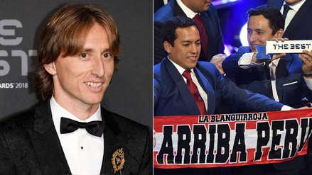 Luka Modric y Dani Alves destacaron el premio de la afición peruana en The Best