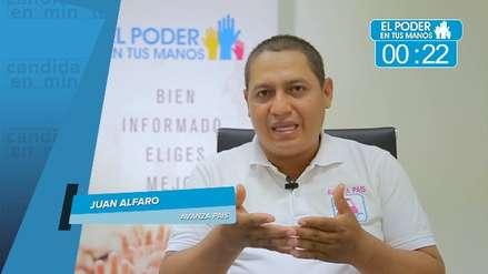 Elecciones 2018: Juan Alfaro expuso sus propuestas en turismo y salud