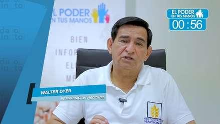 Elecciones 2018: Walter Dyer expuso sus propuestas en seguridad ciudadana, obras y gestión de desperdicios
