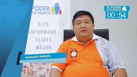 Elecciones 2018: Mariano Rebaza expuso sus propuestas en turismo, salud y actividades ilícitas