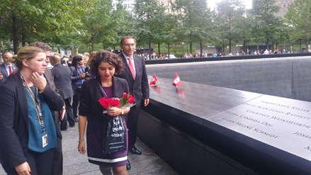 El presidente Vizcarra rindió homenaje a peruanos víctimas del 11 de setiembre