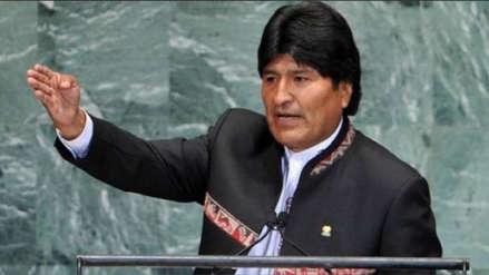 Evo Morales denuncia
